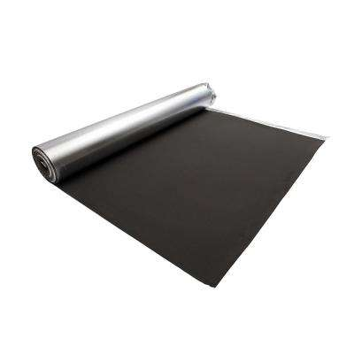 Laminate Flooring Silver EVA Foam Underlayment 2 mm T x 3.3 ft. W x 61 ft. L (200 sq. ft. / roll)