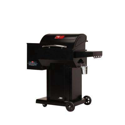 The Hooch Wood Pellet Grill and Smoker in Black