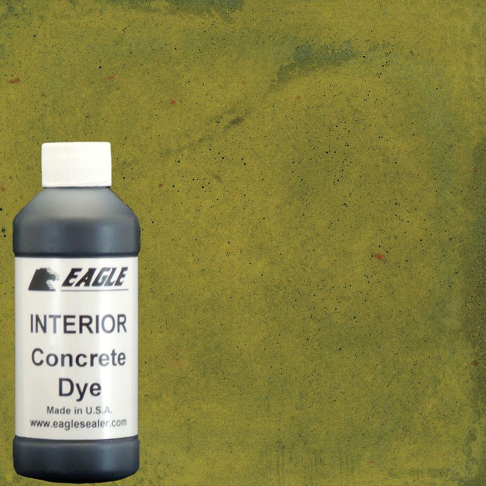 Eagle 1 gal. Dandelion Interior Concrete Dye Stain Makes with Water from 8 oz. Concentrate