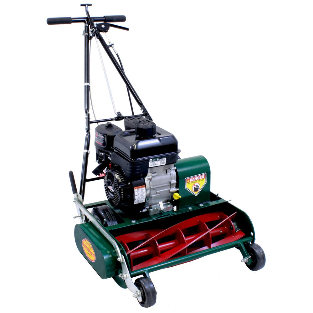 California Trimmer 20 in. Classic Standard 5-Blade Briggs and Stratton Gas Walk Behind Self-Propelled Reel Lawn Mower