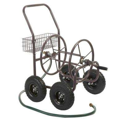 Four Wheel Hose Cart-Pneumatic Tires