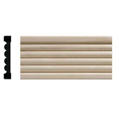 1821 3/8 in. x 2-1/4 in. x 84 in. White Hardwood Beaded Casing
