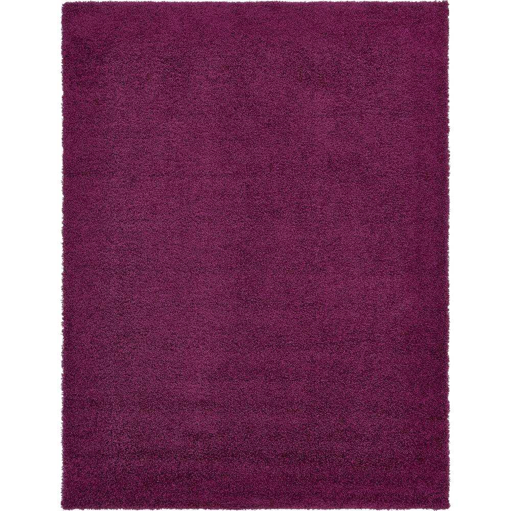 Walmart Purple Rug: Unique Loom Solid Shag Eggplant Purple 10 Ft. X 13 Ft
