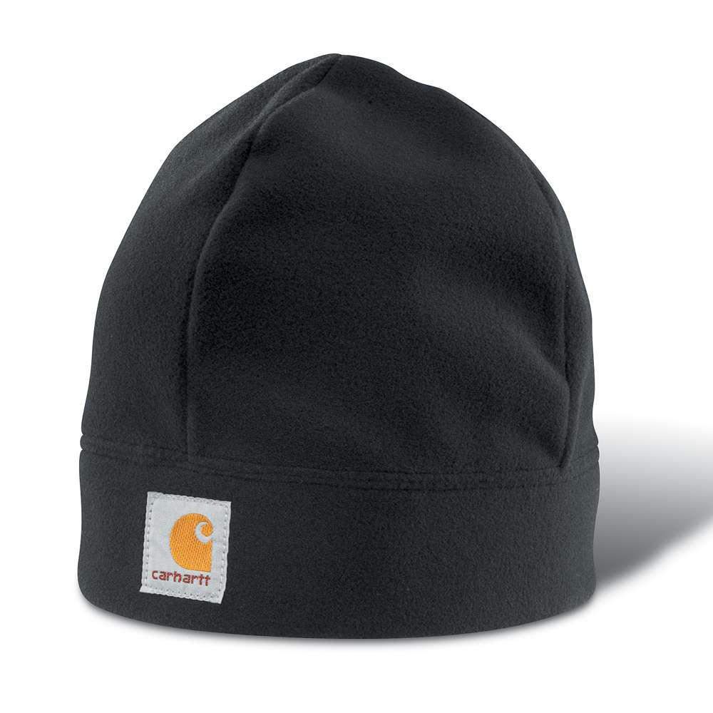 Carhartt Men s OFA Black Polyester Hat Headwear-A207-BLK - The Home ... 5c897d47e17