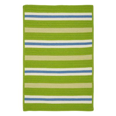 Painter Garden Bright 2 ft. x 3 ft. Striped Indoor/Outdoor Area Rug