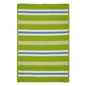 Painter Garden Bright 4 ft. x 6 ft. Striped Indoor/Outdoor Area Rug