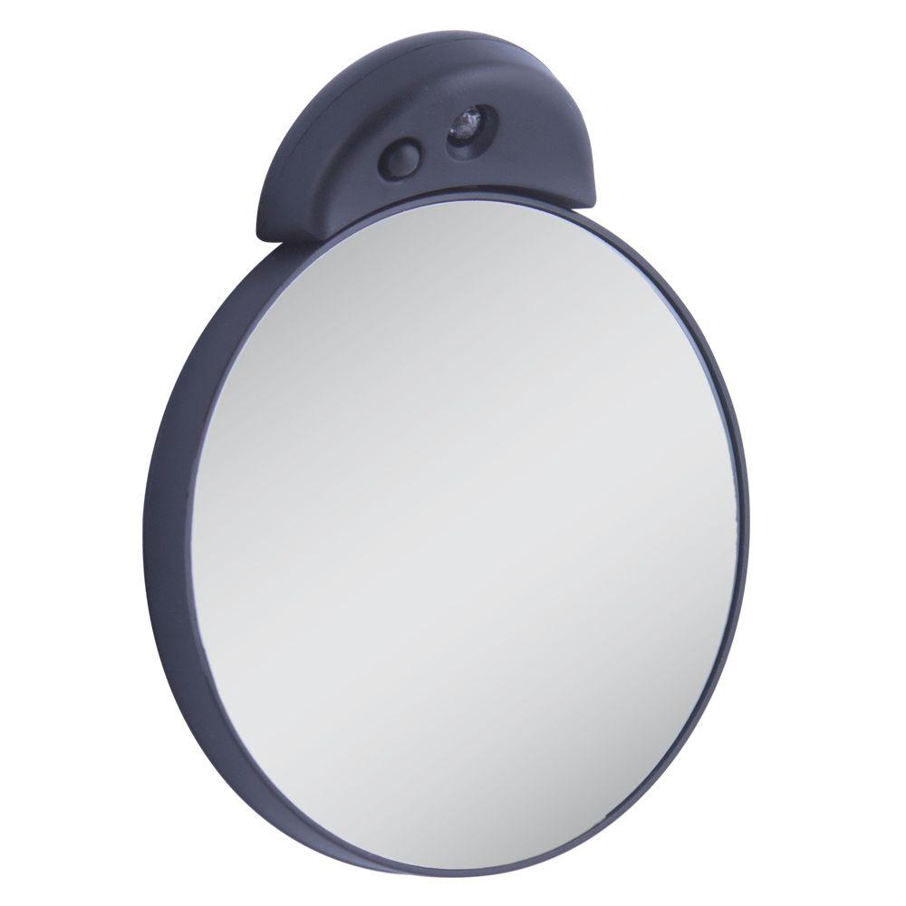 Zadro 15X Lighted Magnification Spot Mirror in Black