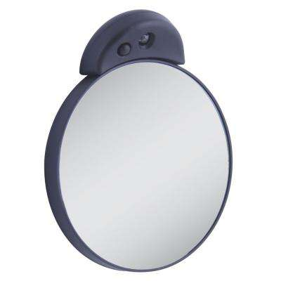 15X Lighted Magnification Spot Mirror in Black