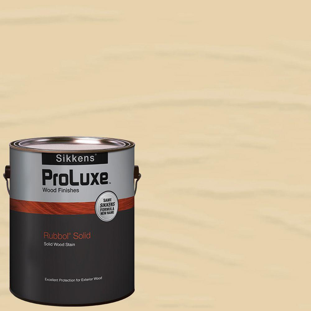 Sikkens ProLuxe 1-gal. #HDGSIK710-231 Navajo White Rubbol Solid Wood Stain -  HDGSIK710500-231-01