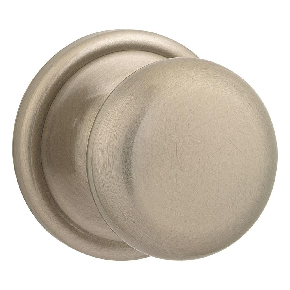 Kwikset Hancock Antique Nickel Half-Dummy Knob