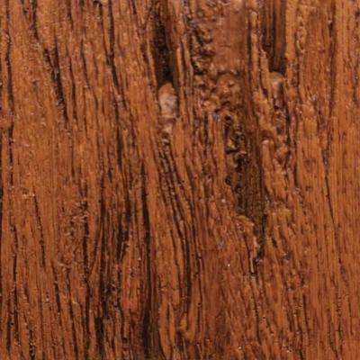 3 in. x 6 in. Garage Door Composite Material Sample in Pecky Cypress Species with Medium Finish