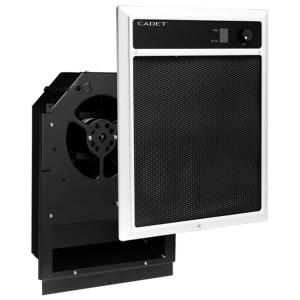NLW Series 2,000-Watt 240/208-Volt In-Wall Fan-Forced Electric Heater Assembly with Grill