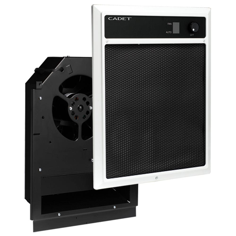 NLW Series 4,000-Watt 240/208-Volt In-Wall Fan-Forced Electric Heater Assembly