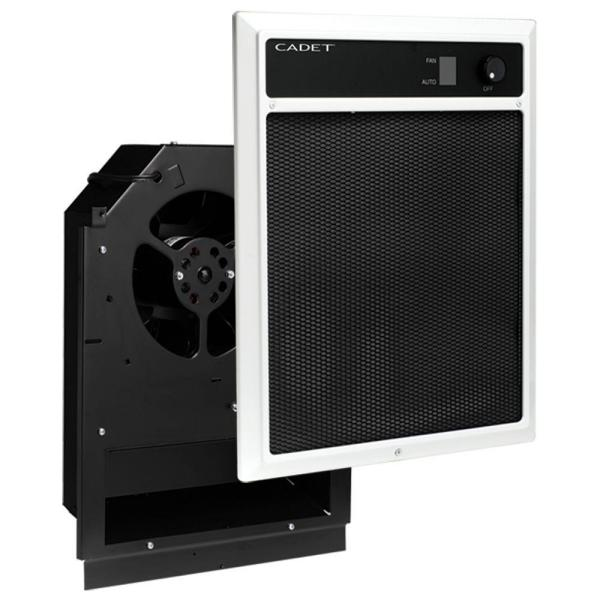 NLW Series 4,000-Watt 240/208-Volt In-Wall Fan-Forced Electric Heater Assembly with Grill