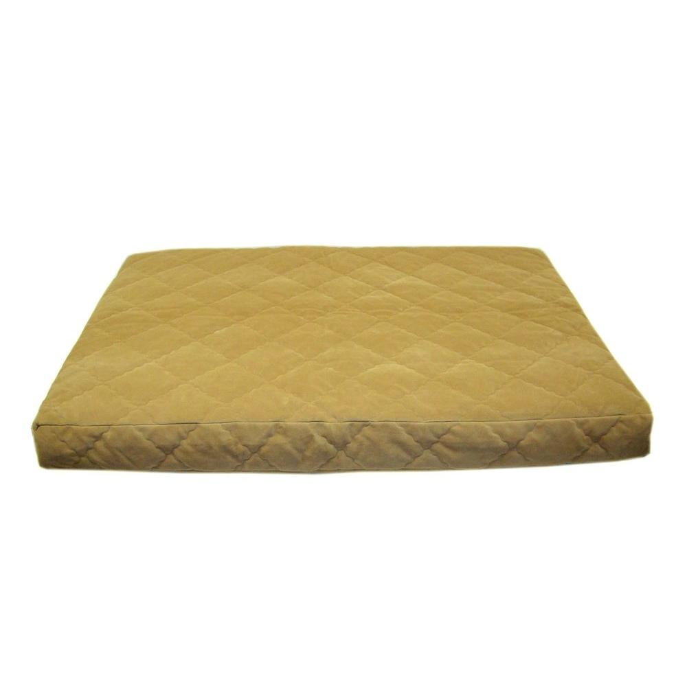 Large Protector Pad Quilted Orthopedic Jamison Pet Bed - Carmel