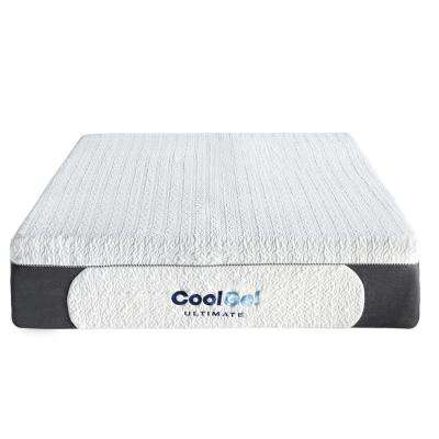 Ultimate King-Size 14 in. Gel Memory Foam Mattress