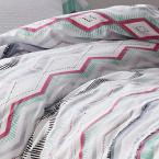 The Company Store Lacey 2-Piece 200-Thread Count Cotton Percale Twin XL Duvet Cover Set