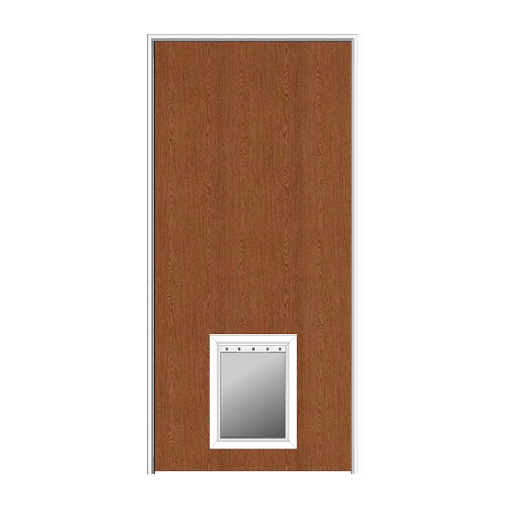 Mmi Door 32 In X 80 In 1 38 In Thick Flush Left Hand Solid Core