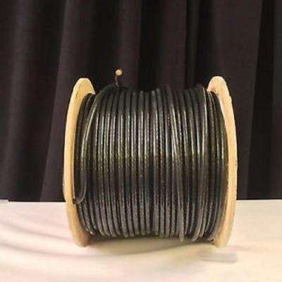 500 ft. 2 Black Stranded CU SIMpull THHN Wire