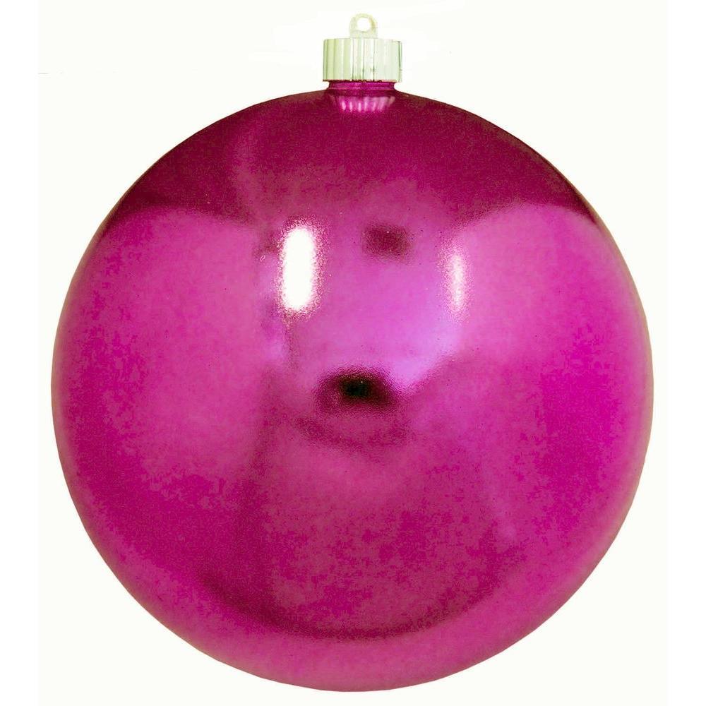 8 in. Tutti Frutti Shatterproof Ball Ornament (Pack of 6)