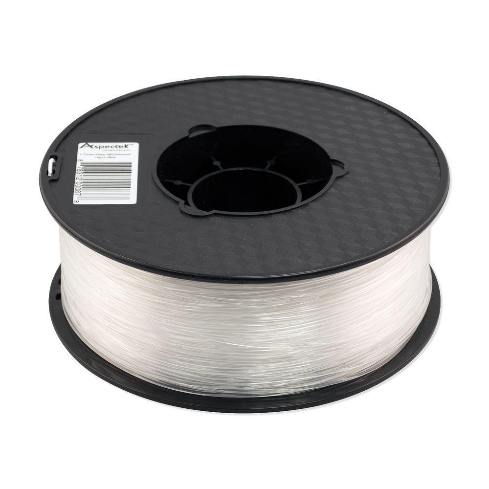 Aspectek 3D Printer Premium Clear ABS Filament
