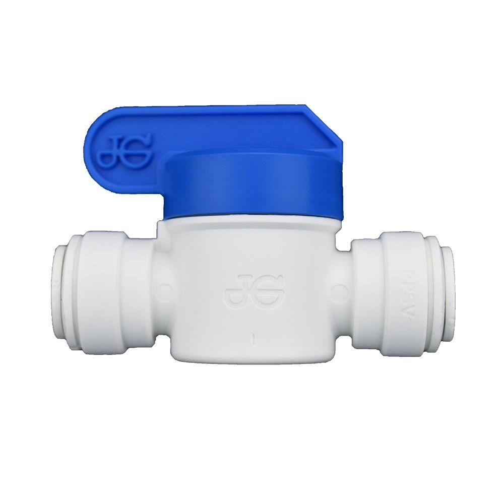 3/8 in. O.D. Polypropylene Push-to-Connect Valve