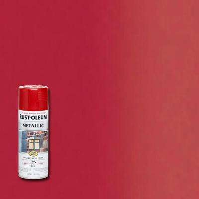 11 oz. Metallic Apple Red Protective Spray Paint (6-Pack)