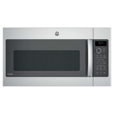 1.7 cu. ft. Convection Over the Range Microwave Oven in Stainless Steel