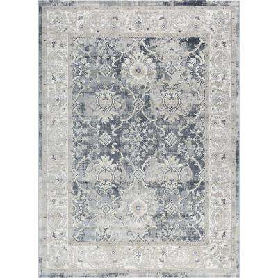Concept Gray 8 ft. x 10 ft. Traditional Area Rug