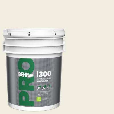 5 gal. #12 Swiss Coffee Semi-Gloss Interior Paint