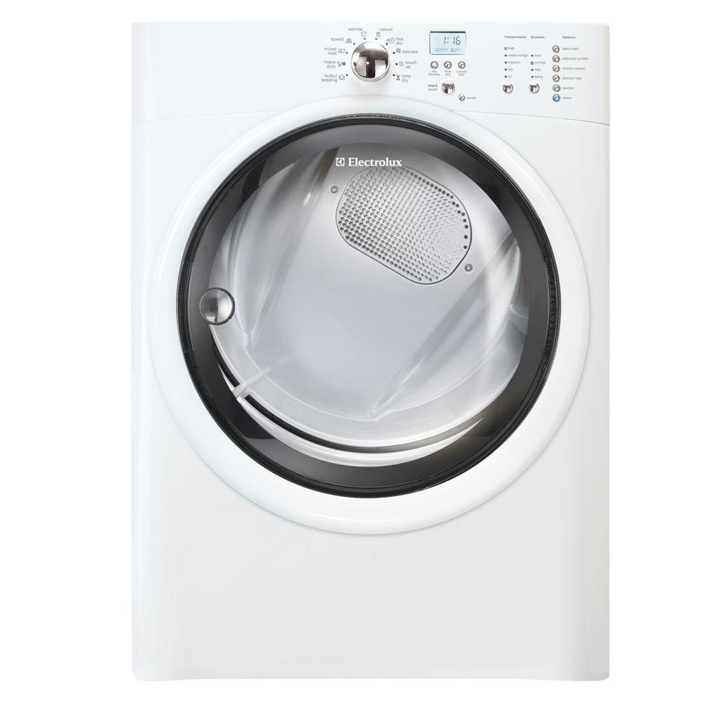Electrolux IQ-Touch 8.0 cu. ft. Electric Dryer in White