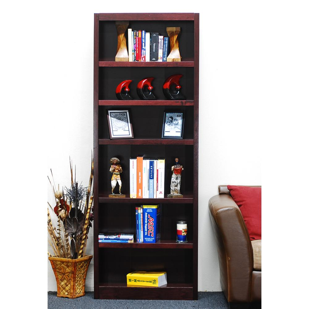 Concepts In Wood Midas Cherry Open Bookcase