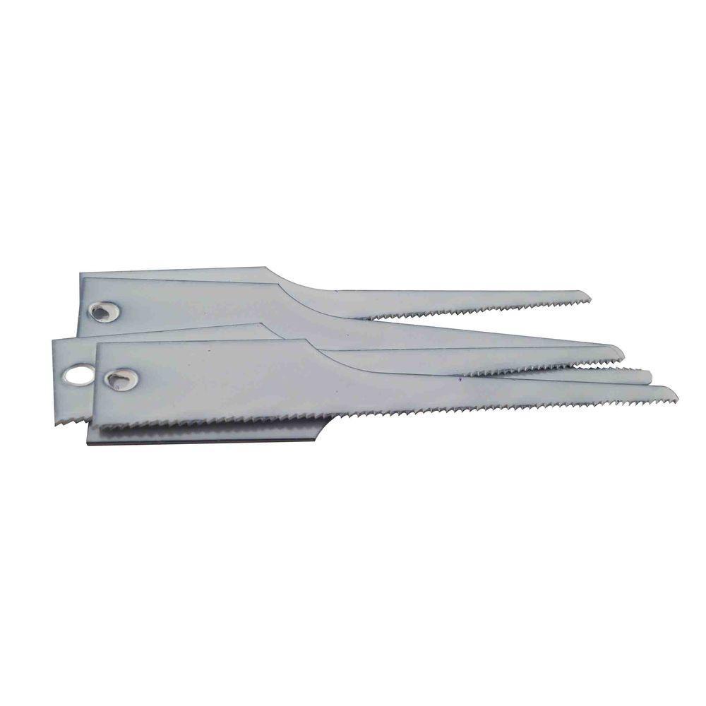3 in. x 1/2 in. x 0.025 in. 24 tpi Bi-Metal Air Saw Blade (5 per Pack)