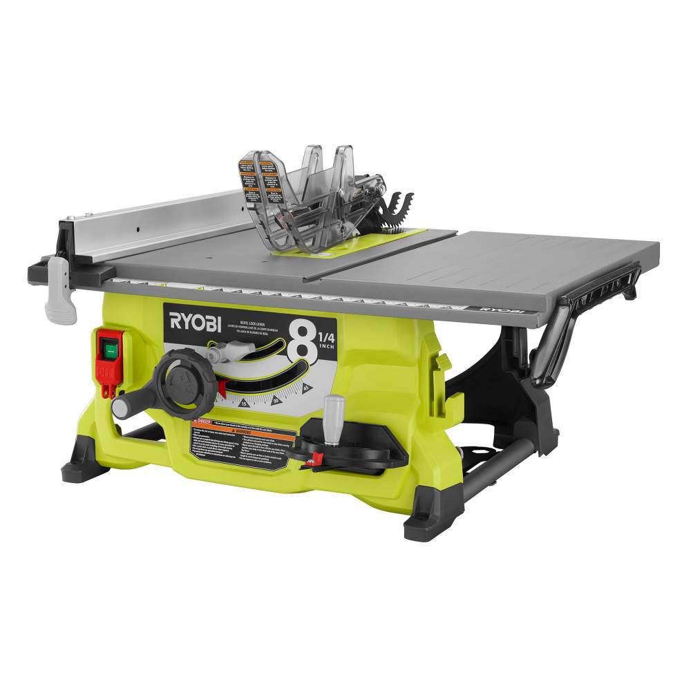 Ryobi 13 Amp 8 1 4 In Table Saw