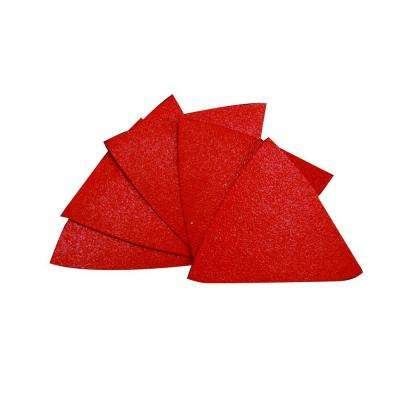 2-7/8 in. x 2-7/8 in. 100-Grit Triangle Detail Sanding Sheet with StickFast Backing (10-Pack)