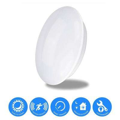 360° Pure White LED Built-In Doppler Motion Sensing Technology Light with Energy Savings and Multi-Smart Features