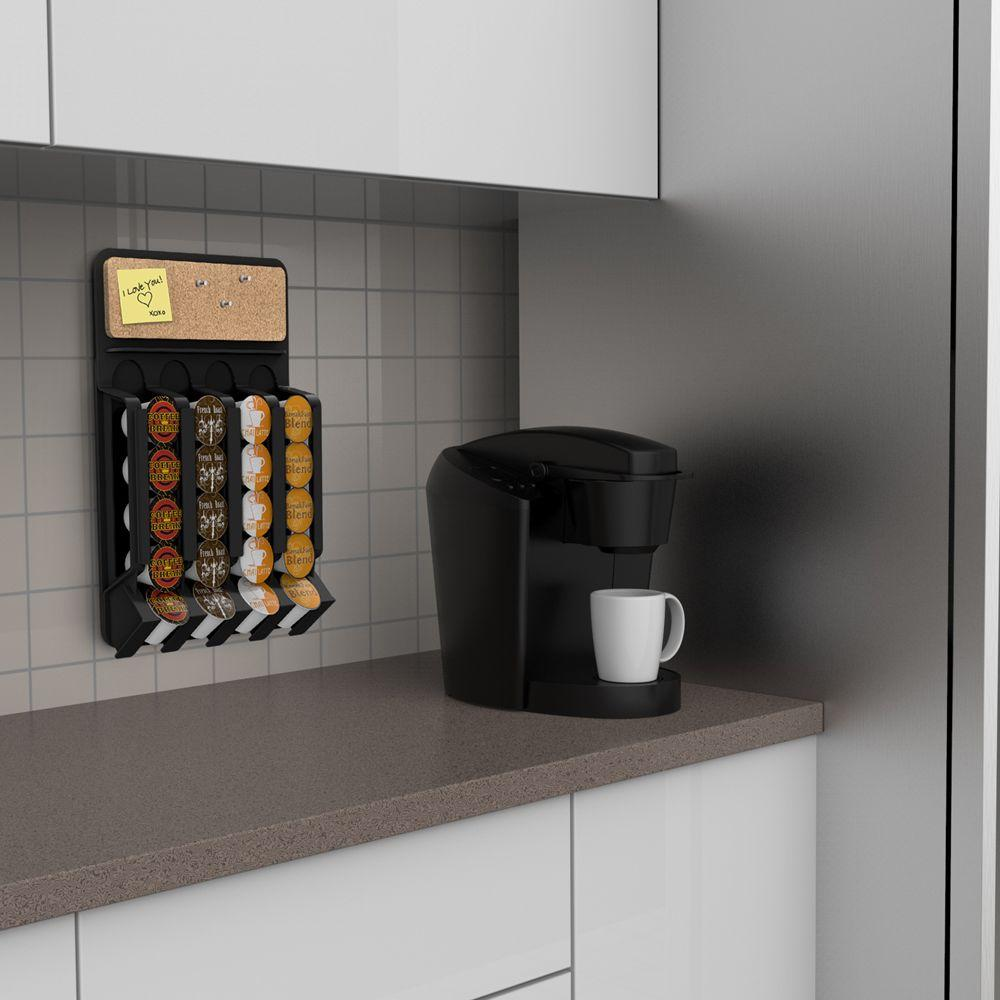 Fridge Wall Mount Dispenser Cup Coffee Holder Small