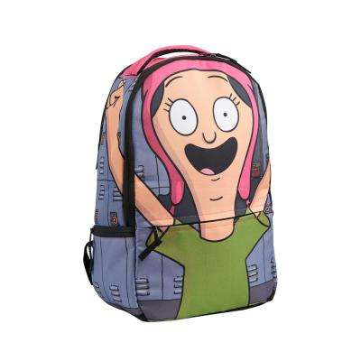 18 in. Louise Belcher Cosplay Hood Backpack Fits Laptops Upto 17 in.
