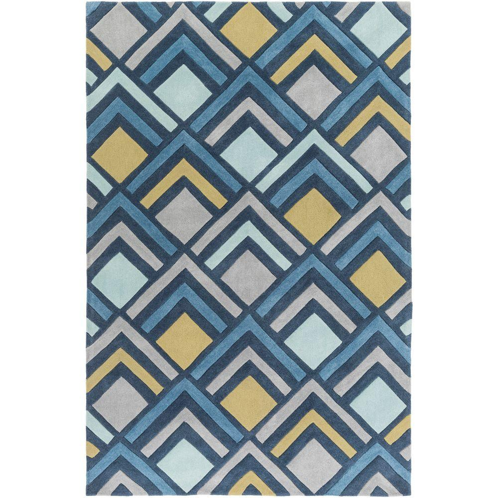 Sego Denim (Blue) 2 ft. x 3 ft. Indoor Area Rug