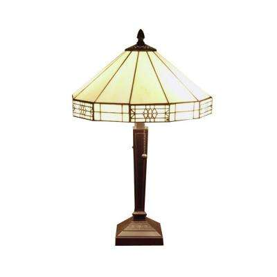 21 in. Mission Bronze Table Lamp