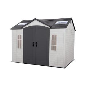 Lifetime Installed 10 ft. x 8 ft. Outdoor Garden Plastic Shed by Lifetime