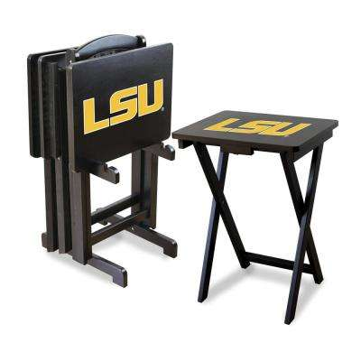 Louisiana State University TV Trays with Stand