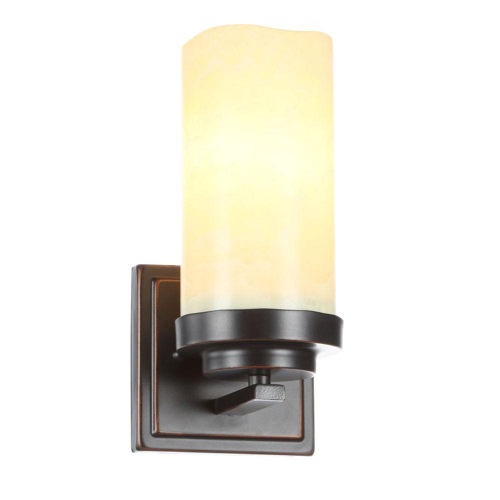 Cordova Collection 1-Light Bronze Sconce