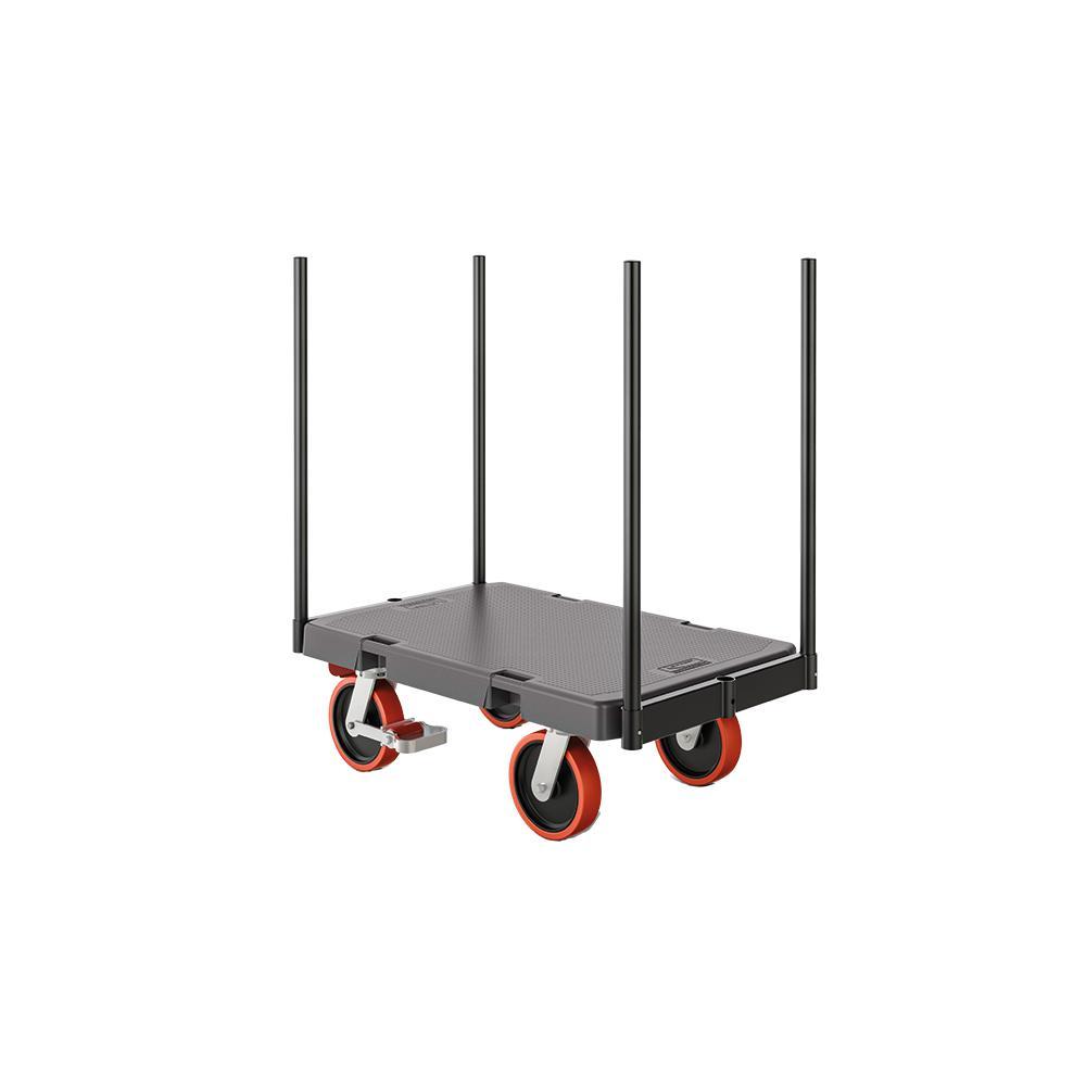 1000 lb. 24 x 36 Resin Stanchion Cart