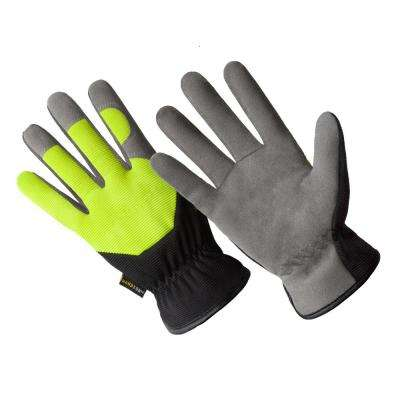 X-Large Multi-Purpose High Dexterity Washable Synthetic Suede Leather Glove