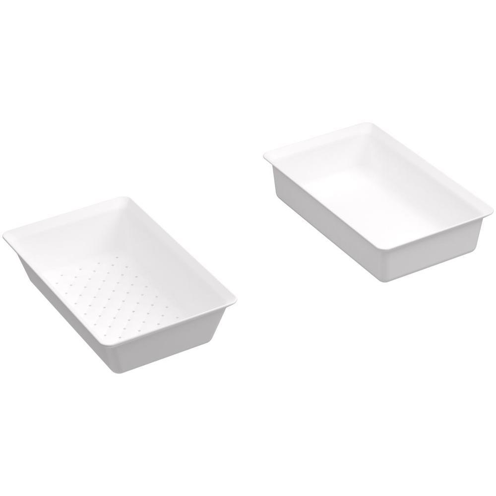 Rev A Shelf 3 813 In H X 11 In W X 2 125 In D White