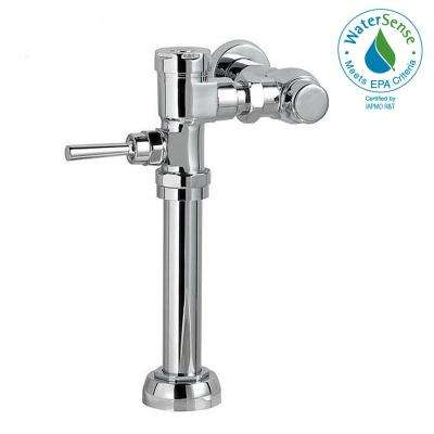 Manual FloWise 1.28 GPF Valve Only Retrofit Toilet Flush Valve in Polished Chrome