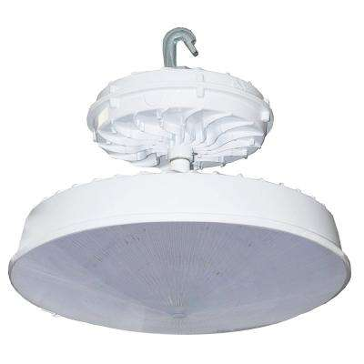 273-Watt White Integrated LED Indoor High Bay with Conical Lens