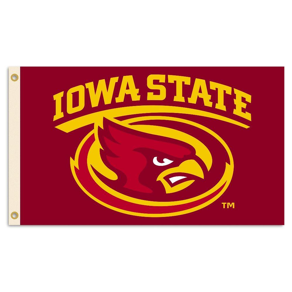 BSI Products NCAA Iowa State Cyclones 2-Sided 3 ft. x 5 ft. Flag with Grommets