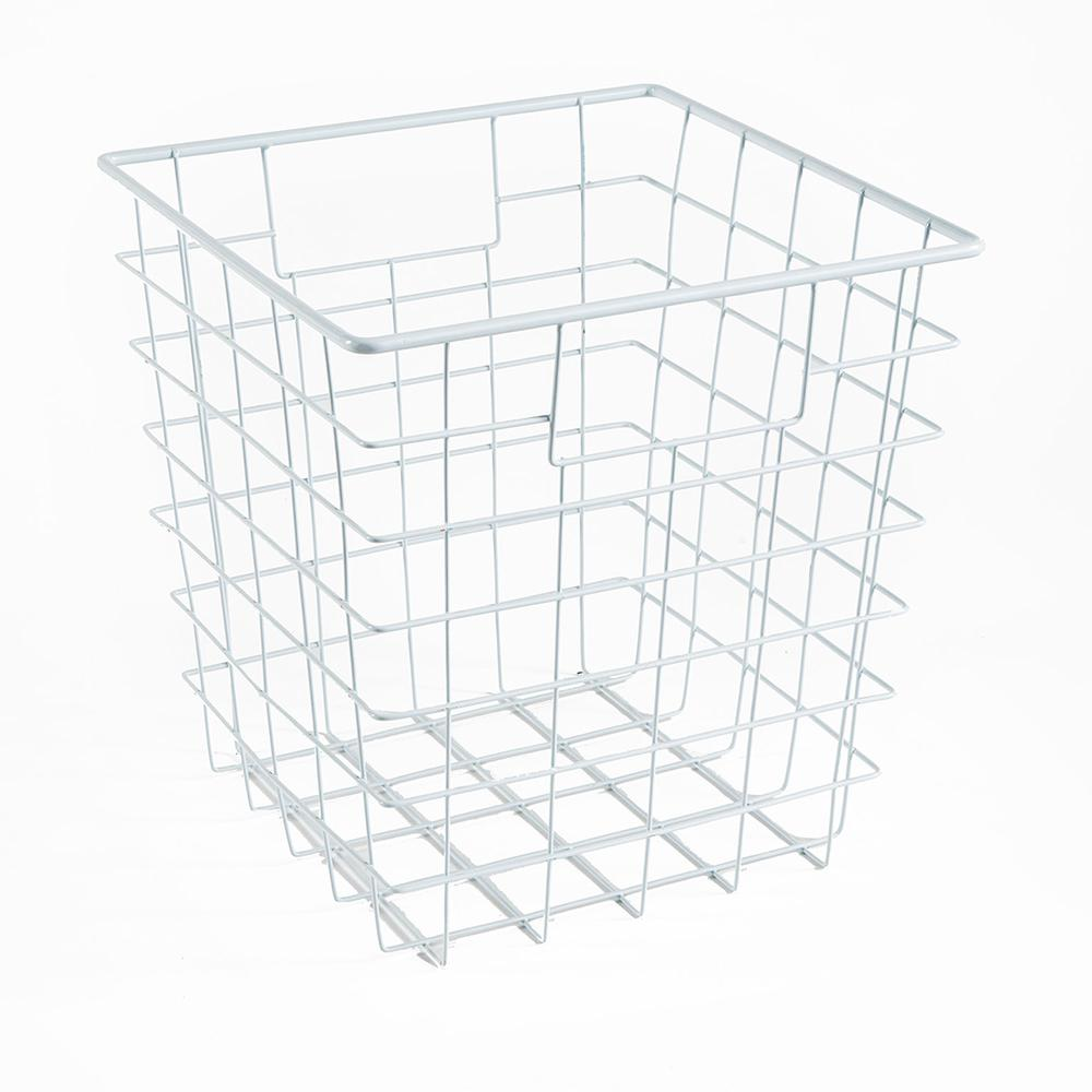 11 in. W x 11 in. H White Wire Drawer